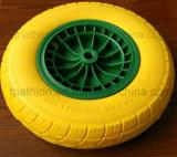 16*4.00-8 3.50-8 6.50-8 rotella di gomma solida della gomma piuma dell'unità di elaborazione delle 8.50-8 carriole