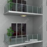 Balcony를 위한 Tempered Glass Railing/Balustrade