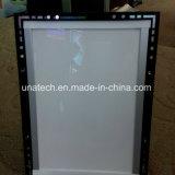 Panneau-réclame de papier éclairé à contre-jour par medias d'intérieur magnétiques de cadre léger du film pp de bande du cristal DEL