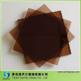 3mm-10mm Color temperado Vidro / vitrais / Brown Cor Vidro / Europe Gray Color Glass