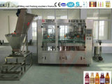 Le flacon en verre de jus d'usine de remplissage/Jus frais Machine de remplissage (3 en 1)
