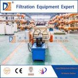 Imprensa de filtro industrial da membrana do tratamento de Wastewater