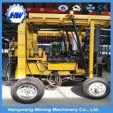 Remolque multipropósito de la máquina de perforación de pozo de agua portátil montado