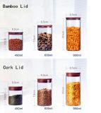 De milieuvriendelijke Kruiken van het Voedsel van de Opslag van de Kruik van het Glas van de Rang van het Voedsel Materiële