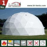 Tente spéciale de demi de sphère de dôme géodésique de modèle avec le tissu de PVC