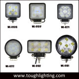 """Luzes Auto 5"""" 48W Square 4X4wd luzes LED CREE para tratores caminhões empilhadeiras"""