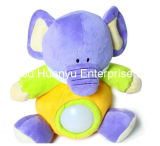 Alimentação de fábrica bebê recheadas Noite Lignt Tiger Toy