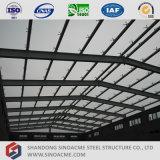Sala per conferenze prefabbricato della struttura d'acciaio dell'ampia luce