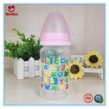 bottiglia per il latte infantile di plastica 8oz/10oz con stampa