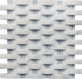 Le marbre blanc, la Chine mosaïque de pierre, carrelage en marbre blanc