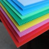 Лист обработанный короной Corrugated пластичный для рекламировать