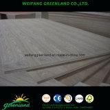 Natrure Sapele, cerezos, robles, fresnos, teca, Arce, chapas de madera de haya contrachapado para producir muebles