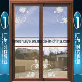 Puertas deslizantes decorativas de aluminio coloridas para la decoración interior