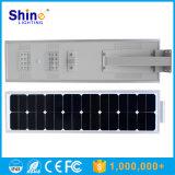 30W impermeable 25W LED todo en una luz de calle solar
