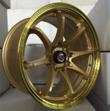 日本ドリフトの凹面アルミニウムは車の合金の車輪に縁を付ける