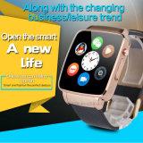 Téléphone mobile de montre de Digitals avec la fente X6 de carte SIM