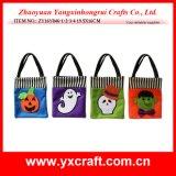 Halloweenの装飾(ZY16Y052-1-2-3-4 40X19CM)のHalloweenの魔法使いのハンドバッグのHalloweenの戦闘状況表示板