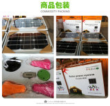 Indicatore luminoso domestico solare, illuminazione esterna solare, lampada solare del LED, lampadina solare