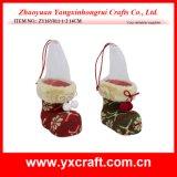 Ornament van de Laars van de Decoratie van het Gebruik van Kerstmis van de Decoratie van Kerstmis (zy15y048-1-2) het Veelvoudige Hangende