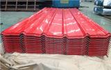 Rodillo acanalado de acero de la hoja del material para techos que forma la máquina