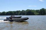 Шлюпка мотора Aqualand 14FT полужесткие раздувные/воискаа спашут патруль/шлюпку спортов резиновый (425)