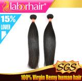capelli umani diritti del Virgin peruviano 9A, capelli non trattati di 100%