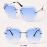 Óculos de sol Rimless da forma