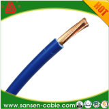 Isoleerde Goedgekeurd pvc van Ce Norm de Zachte Enige Draad h05v-k van de Kabel van het Koper van de Kern Bendable