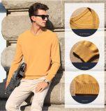 Vの首(13brdm006-1)が付いている人のカシミヤ織のセーター