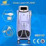 ダイオードレーザーの皮の毛の取り外しIPLの毛の取り外し機械(MB810D)