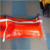 Absorber y limpiar el vástago de la cerca del PVC, auge de goma de la alga marina
