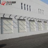 Раздвижные двери гаража коммерчески промышленного автоматического надземного подъема секционные