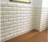 El panel/papel Piel-Cómodos de la pared de ladrillo de la espuma del sitio de la base