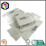 Лоснистая коробка перевозкы груза бумаги картона печати цвета одностеночная