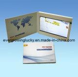 брошюра 7inch LCD видео- для рекламы