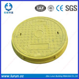 SGS Passed BMC / SMC Plastic Anti-Theft Performance Round Composite Resin Manhole