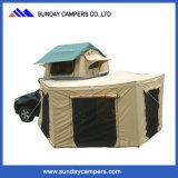 Tenda della parte superiore del tetto dell'automobile con una tenda facoltativa da 270 gradi
