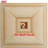 Панель стены PU плакирования 3D стены названия стены кожаный