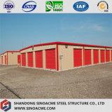 高品質のプレハブの軽い鉄骨構造の倉庫