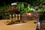12 Super LED brilhante luz de churrascos com o aparelho Clip e o Ímã