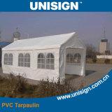Anti-UV, impermeável lona de PVC para Tent