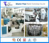 Machine de tuyau renforcé de fibre de PVC, ligne de production de tuyau tressé en PVC