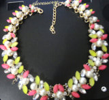 Shourouk estilo de la perla y de la joyería cristalina piedra de la manera (XJW13222)