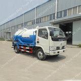 고압 청소 4X2 하수 오물 흡입 유조 트럭