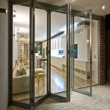 Двери Alumininum французские складывая Lowes стеклянные для трактира с 6 панелями