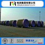 Wrasは自身の工場が付いているプレストレストコンクリートシリンダー管(PCCPの管)を証明する