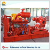 Pompe à eau centrifuge de moteur diesel d'anti de corrosion incendie d'abrasion anti