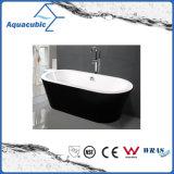 黒い環境の楕円形の支えがないアクリルの浴槽(AB1505B)