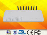 Fija inalámbrica GSM de 8 canales VoIP Gateway (GoIP8)