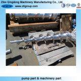Edelstahl-Gussteile durch Sand-Gussteil mit der CNC maschinellen Bearbeitung